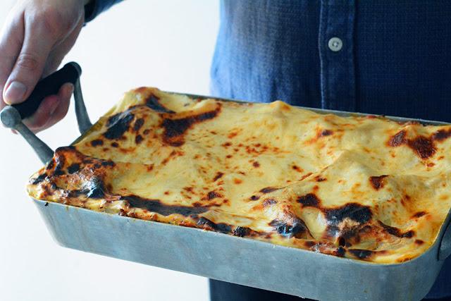 Receta de Lasaña de carne tradicional casera