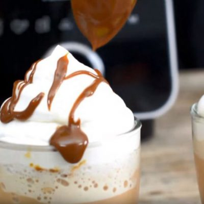 Frapuccino casero de dulce de leche estilo Starbucks