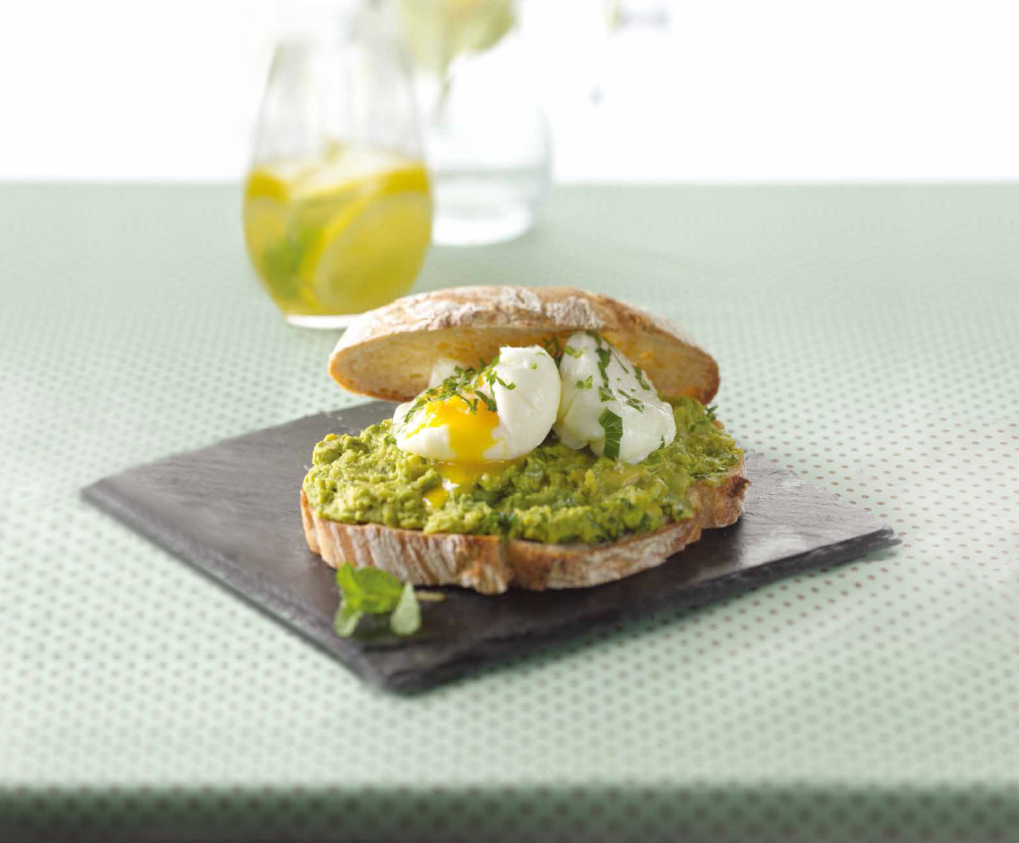 Avocado Smash with Poached Eggs
