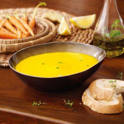 Répa-citrom-gyömbér leves