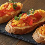 Bruschettas à la poivronnade