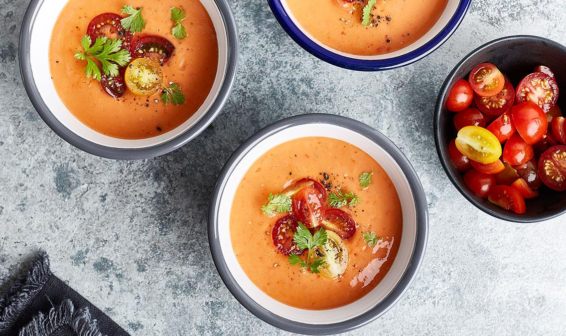Nektarin gazpacho