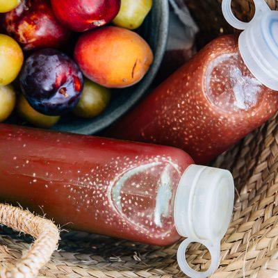 Chia fresca aux fruits rouges
