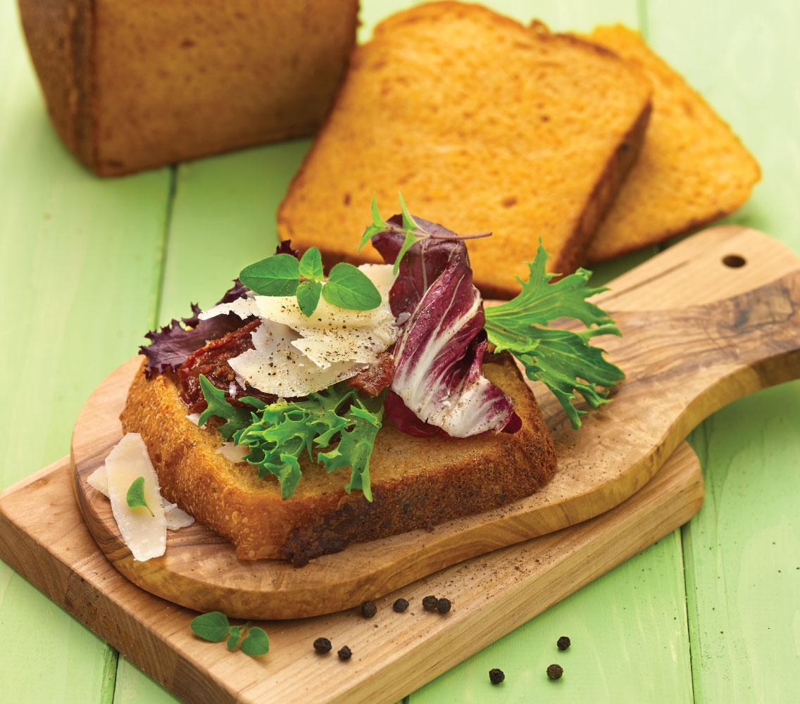 Sundried Tomato & Parmesan Bread