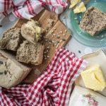 Pan sin gluten con nueces y semillas
