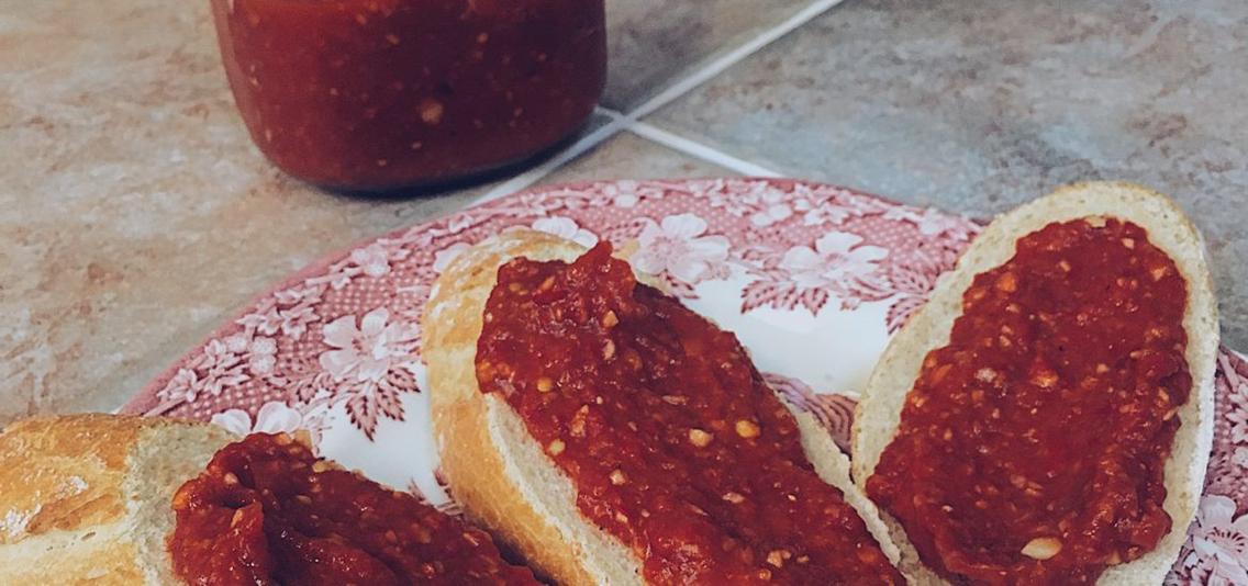 Ajvár – Sült paprika / Padlizsánkrém
