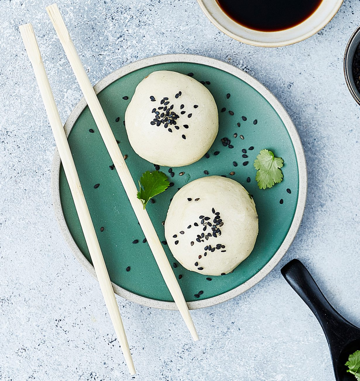 Steamed Vegetarian Chinese Buns