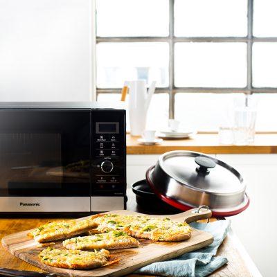 Volkoren pizza met kaas en ricotta recept