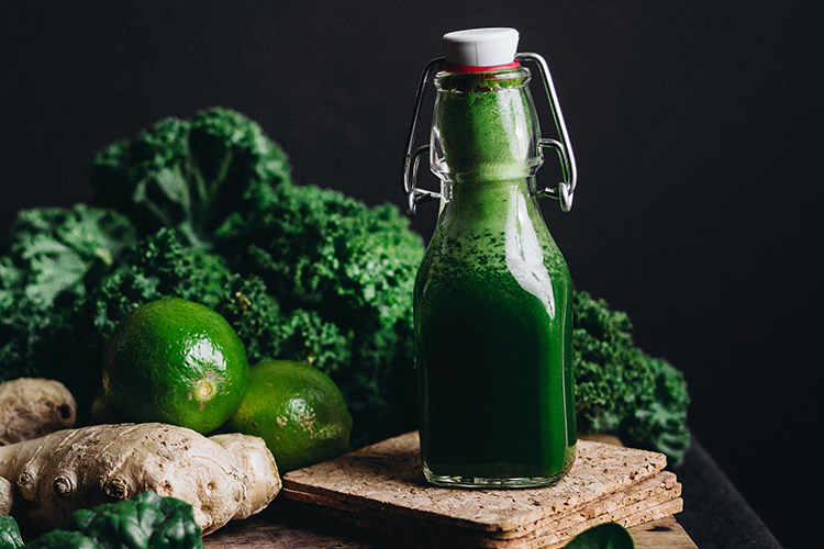 Healthy immune boosting shot – Green