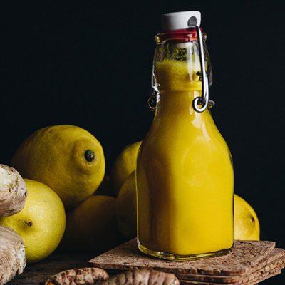Gezond shot – geel recept