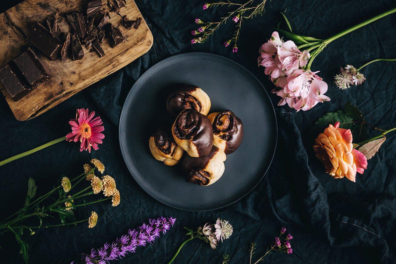 VEGAN CHOCOLADE BABKA recept