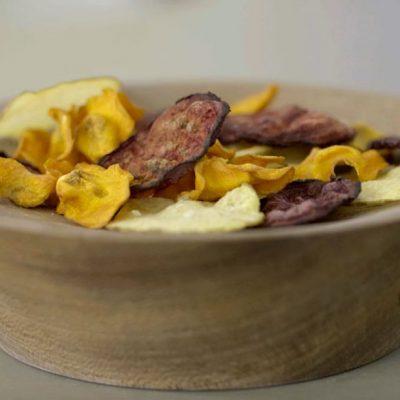 Snacks, Chips Saludables al Microondas