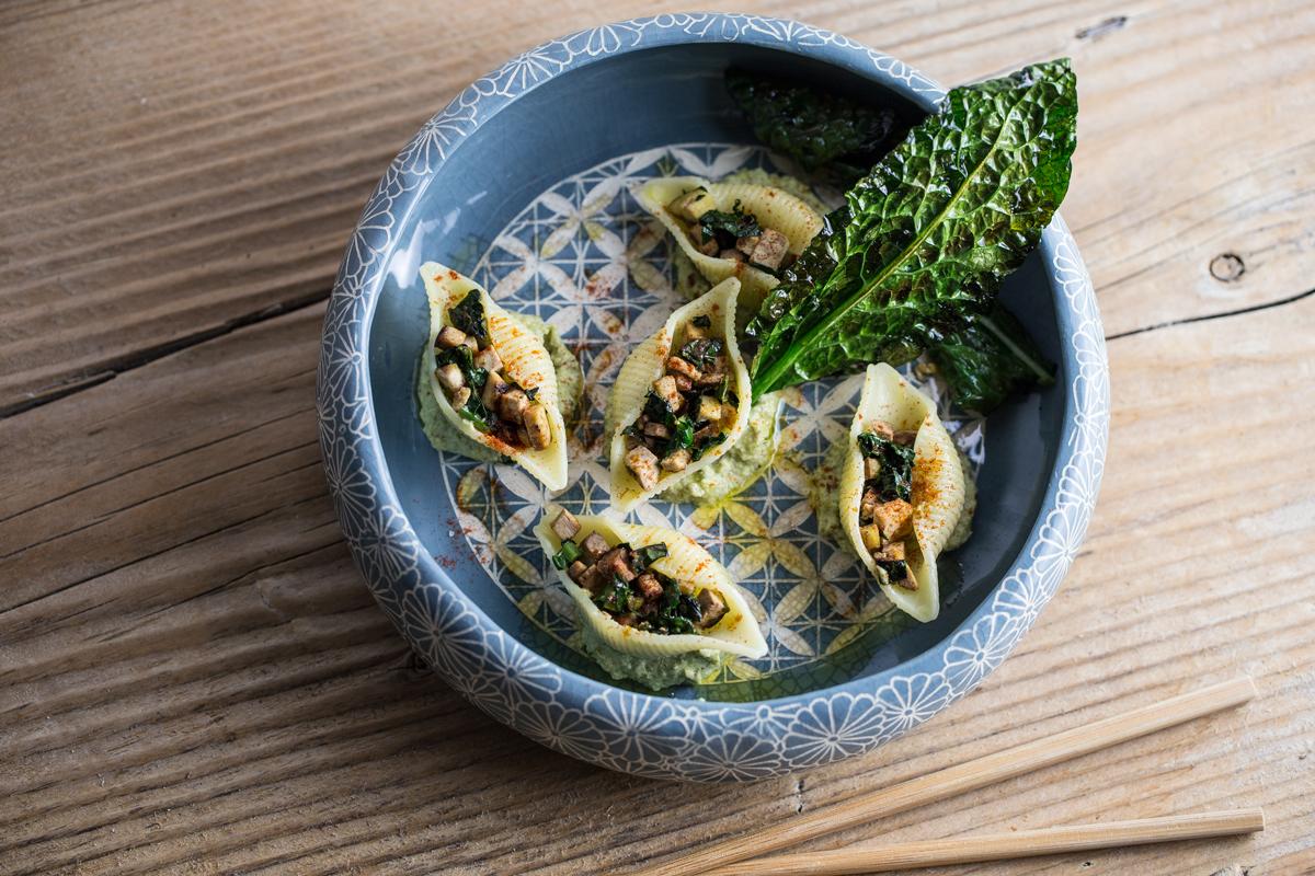 Pasta con broccoli e mandorle