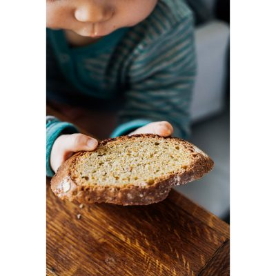 Bread for Children with Carrots and Apple Juice Recipe