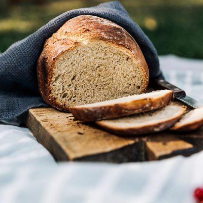Recept voor aardappelbrood met rozemarijn