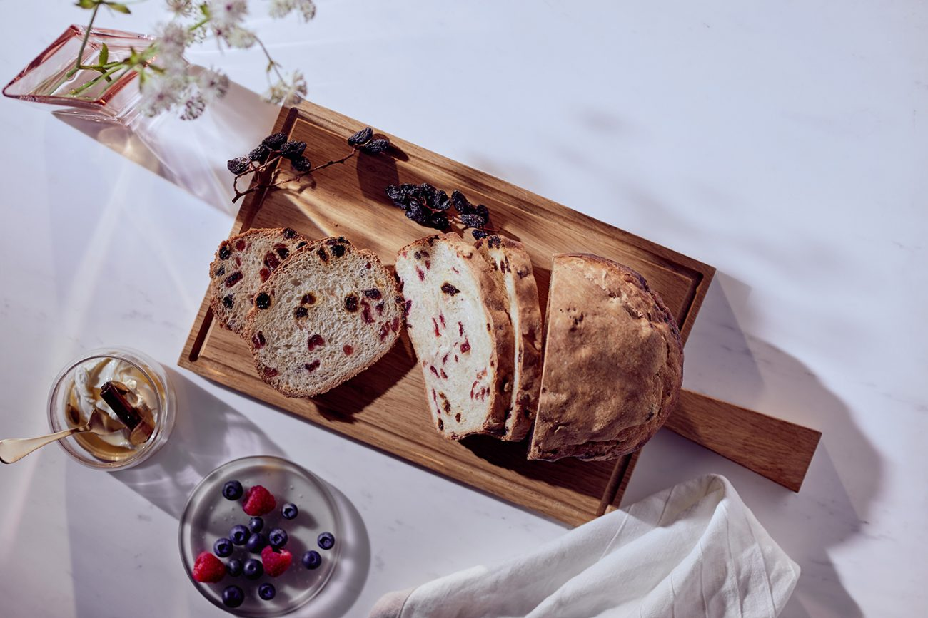 Cranberry & Raisin Bread