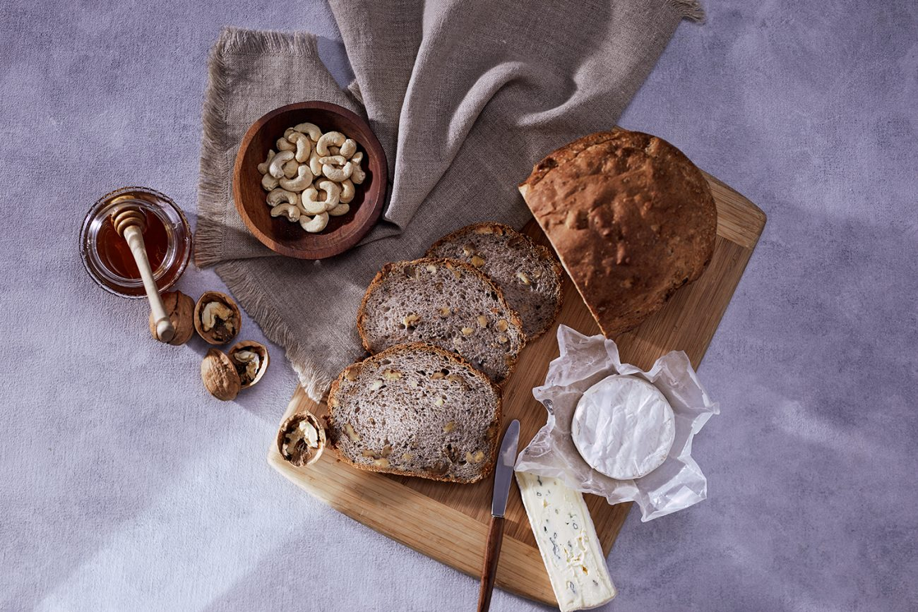 Cashew and Walnut Bread