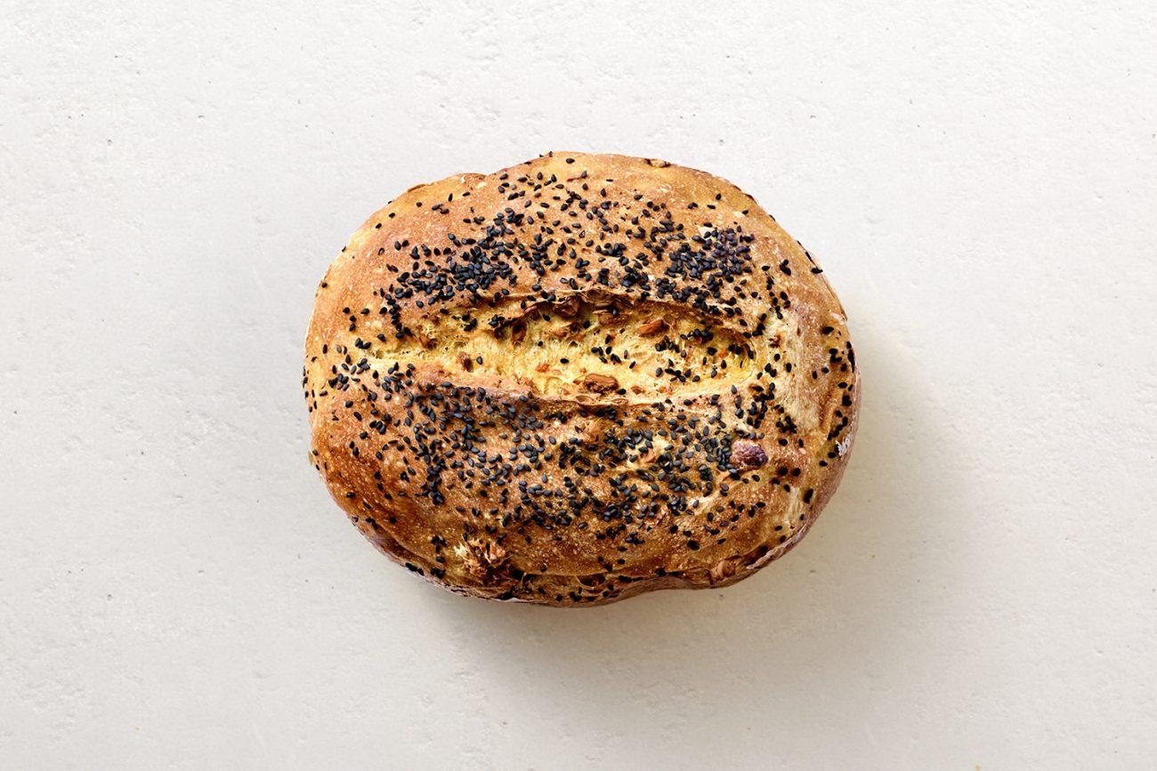Turmeric-Cashew Bread