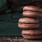 Chocolade macarons recept