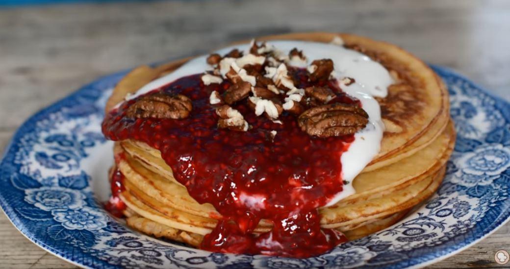 Receta de Tortitas americanas o Pancakes fáciles y rápidos