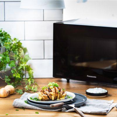 Pommes de terre à la suédoise aux champignons, oignons et fromage