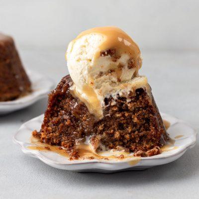 Sticky toffee pudding recept