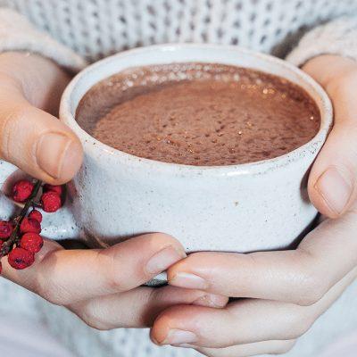 Gingerbread latte met pecannotenmelk recept