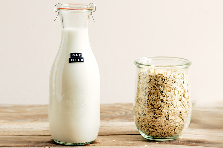 Home-made Oat Milk