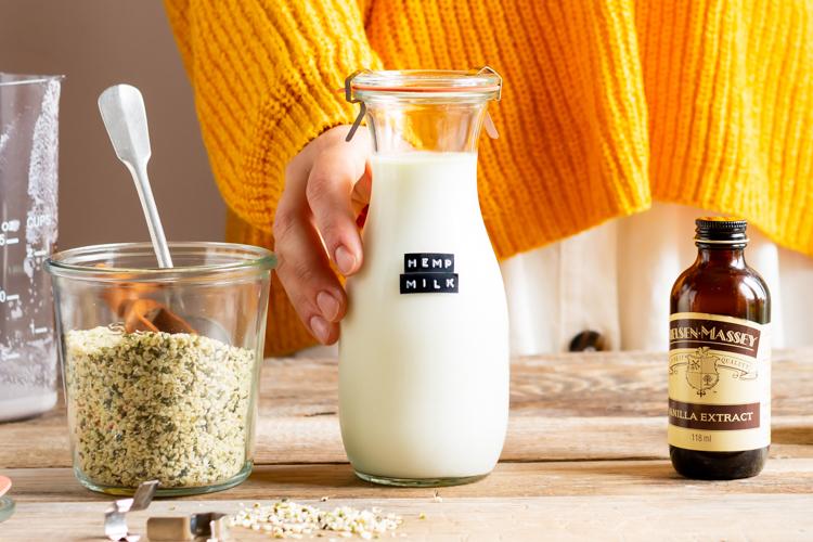 Mleko z konopi