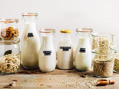 Cum se prepară laptele din produse nelactate