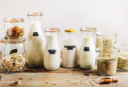 Cómo preparar leche vegetal casera