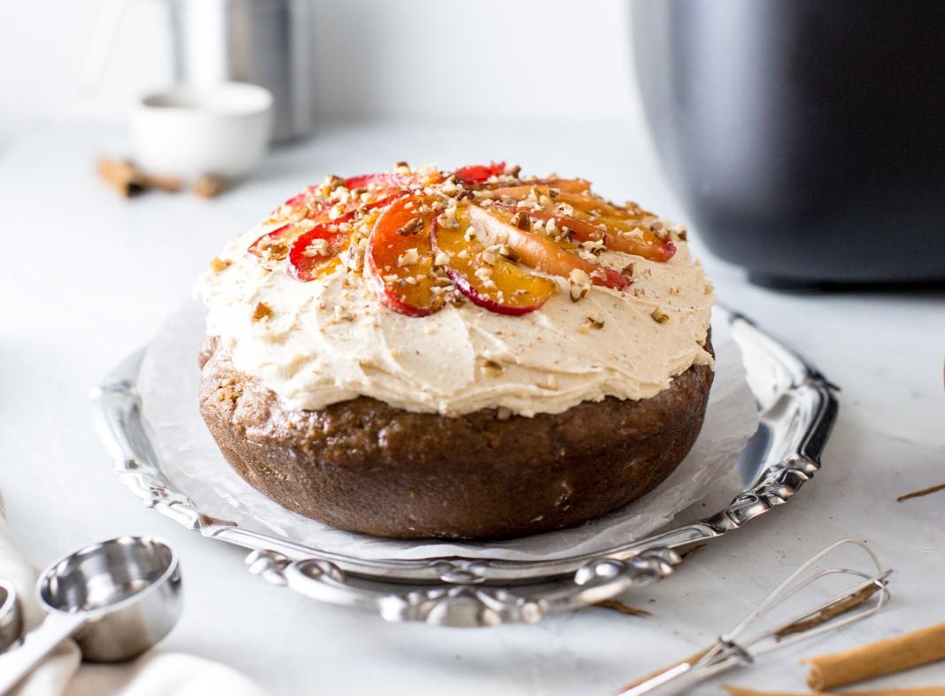 Vegan Apple & Cinnamon Cake