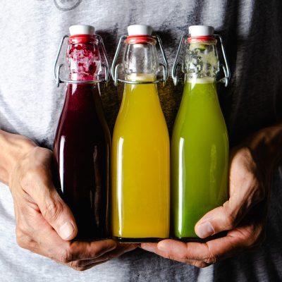 Coloured Juices Recipe