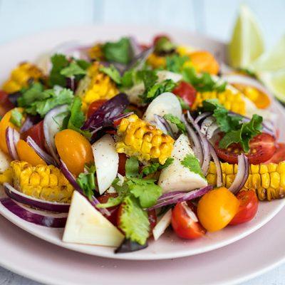Charred Sweetcorn Salad Recipe