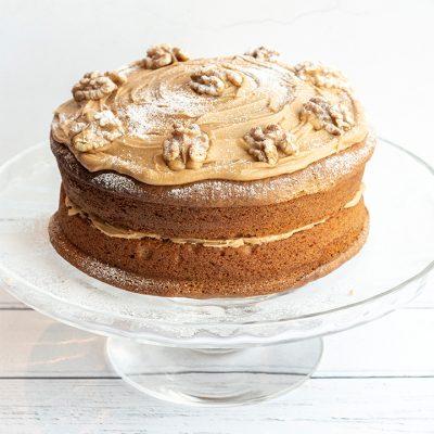 Recette de gâteau au café et aux noix