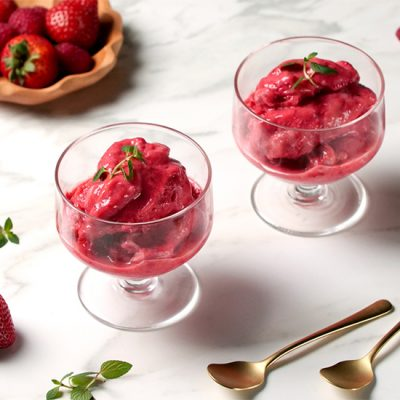Frozen Yogurt ai frutti rossi