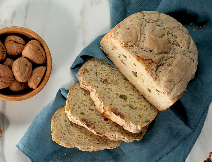 Gluten-Free Bread with Nuts & Seeds