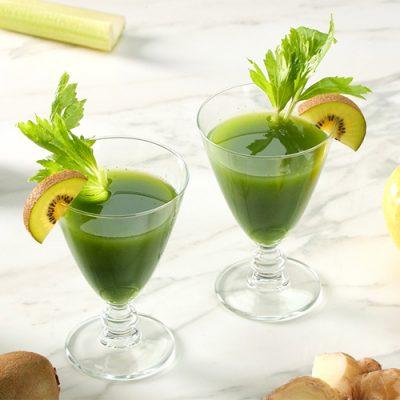 Succo di kiwi e verdure
