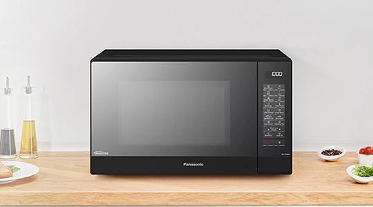 Forno Microonde Combinato Grill Inverter Vapore Panasonic NN-GD38
