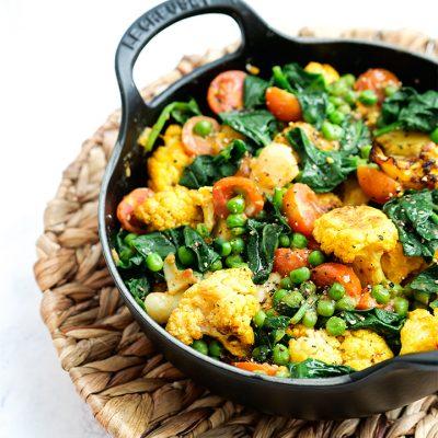 Roasted Cauliflower Curry Recipe