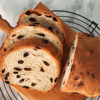 Soft Raisin Bread Recipe