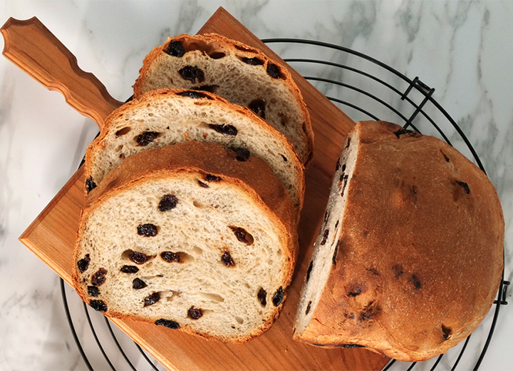 Soft Raisin Bread