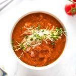 Thick Vegan Tomato Soup Recipe