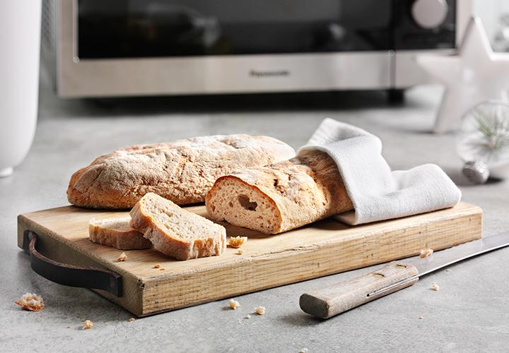 Baguette senza glutine ricetta