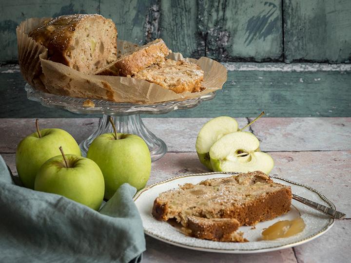 Gâteau pomme-gingembre sans gluten