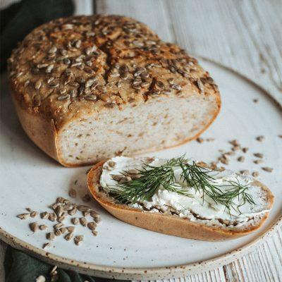 Pane gluten-free fatto in casa