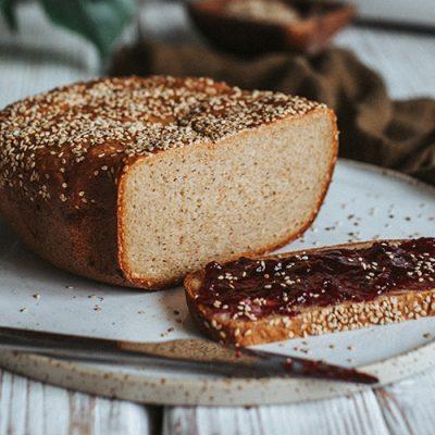 Pane con sesamo gluten-free