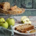 Pastel de jengibre y manzana sin gluten