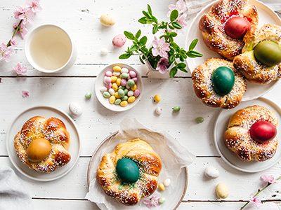 Pâques en toute simplicité<br/>Idées de recettes sucré-salé
