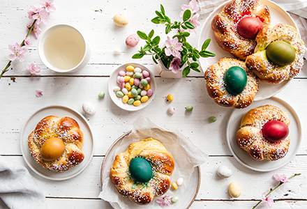 La Pasqua è sempre buona<br/>con le nostre ricette!